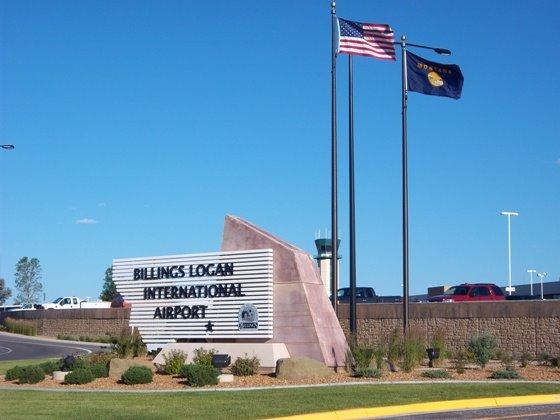 Billings Airport entrance