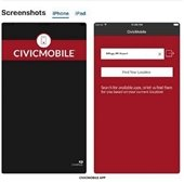 CivicMobile App screenshots